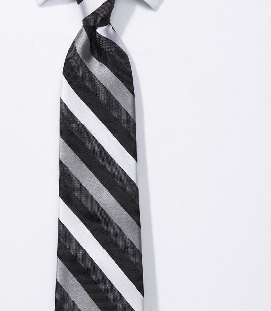 A lovely tie from Express to accompany the suit, along with other colors such as Raspberry and Eastern Red.