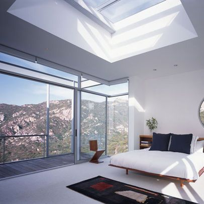 Modern Bedroom Photos Skylight Design, Pictures, Remodel, Decor and ...