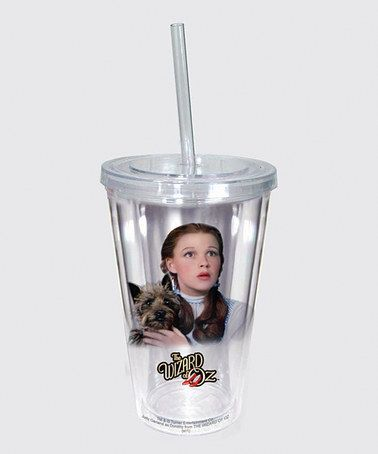 Take a look at this Dorothy & Toto Tumbler by Spoontiques on #zulily today!