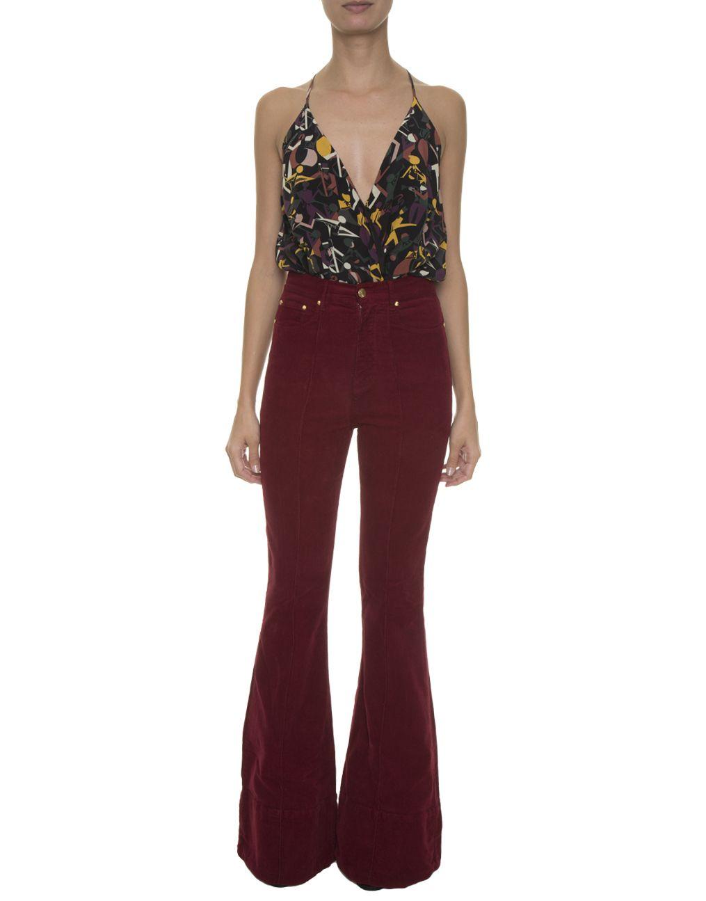 9cf2c935f Calça Flare Cotele Wine Amapô  Flares  Moda  Jeans  Clothes  Fashion   Styled  ModaFashion