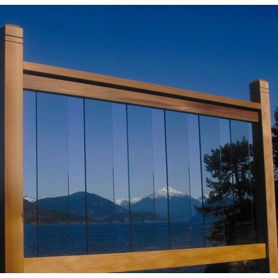 Vista Railing Systems Inc Clearview Glass Balusters for 6 ...