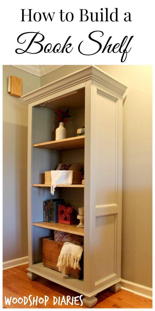 Photo of Build a Bookshelf–{6 Steps to Build Your Own Freestanding Bookshelf}