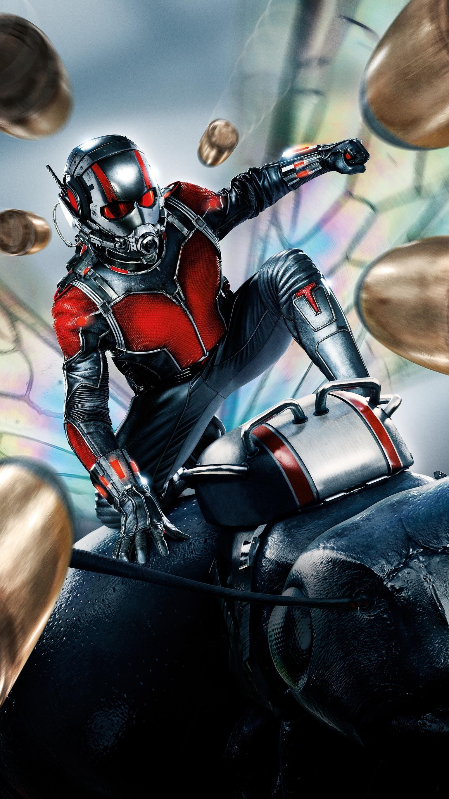 Ant Man 2015 Phone Wallpaper Moviemania Ant Man Marvel Ant Man 2015 Ant Man Poster