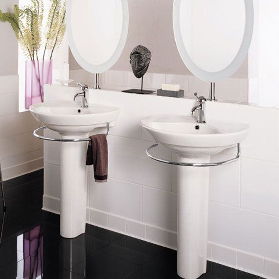 American Standard 0268 100 In 2020 Pedestal Sink Pedestal Sink