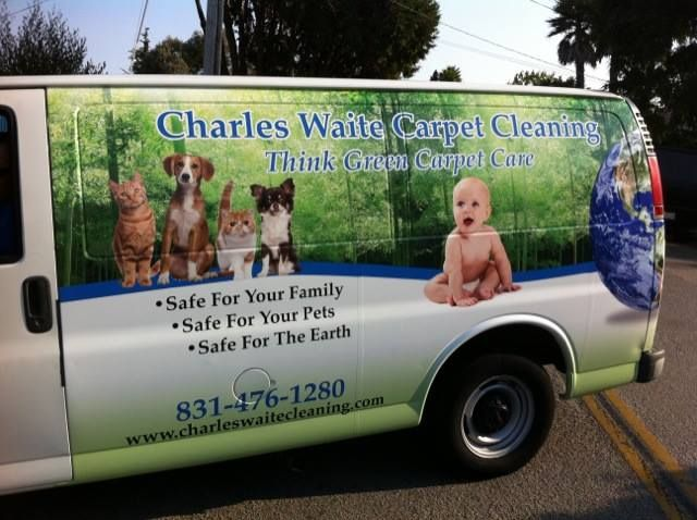 Charles Waite Carpet Cleaning Van Wrap How To Clean