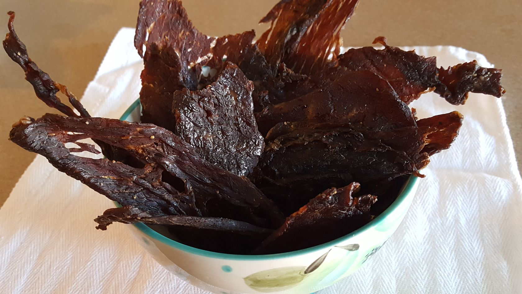 Air Fryer Beef Jerky Air fryer recipes beef, Beef jerky