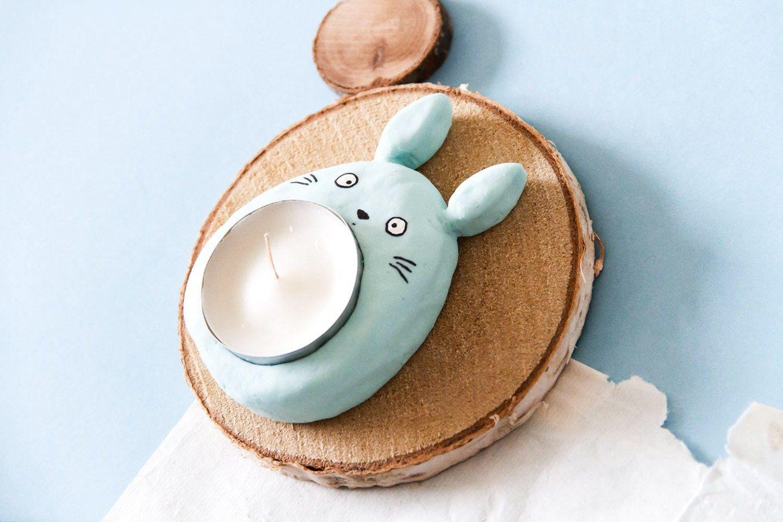 DIY Totoro : comment créer un bougeoir en forme de Totoro - Manayin