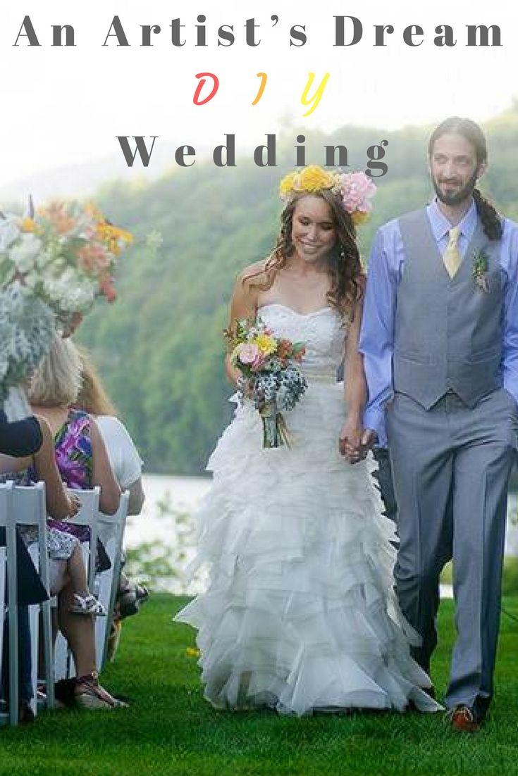 An Artist\'s Dream DIY Wedding | DIY wedding, Wedding trends and Weddings