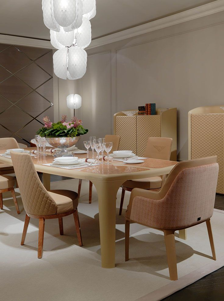 Superbe Bentley Home   Bradley Table, Harlette Chairs, Kendal Large Chairs And  Lendal Cupboards Www.luxurylivinggroup.com #Bentley #LuxuryLivingGroup