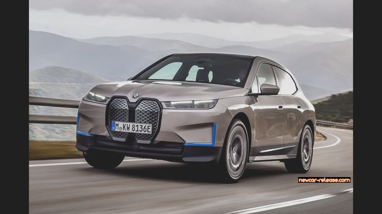 New 16 Bmw Ix Electric Suv Revealed Full Review 2021 Bmw I3 Review And Design En 2021 Bmw Suv Tesla Model X