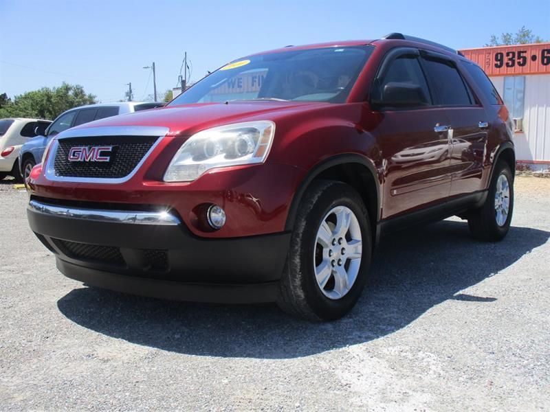 This 2010 GMC Acadia SLE is listed on for