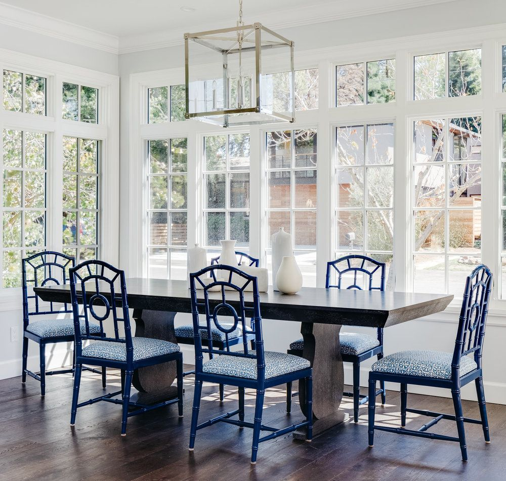 Luxury Sunroom Dining Table