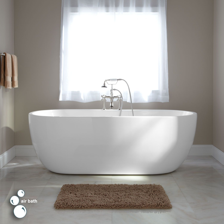 71 Quot Boyce Freestanding Acrylic Air Bath Tub Free Standing Bath Tub Acrylic Tub Free Standing Tub