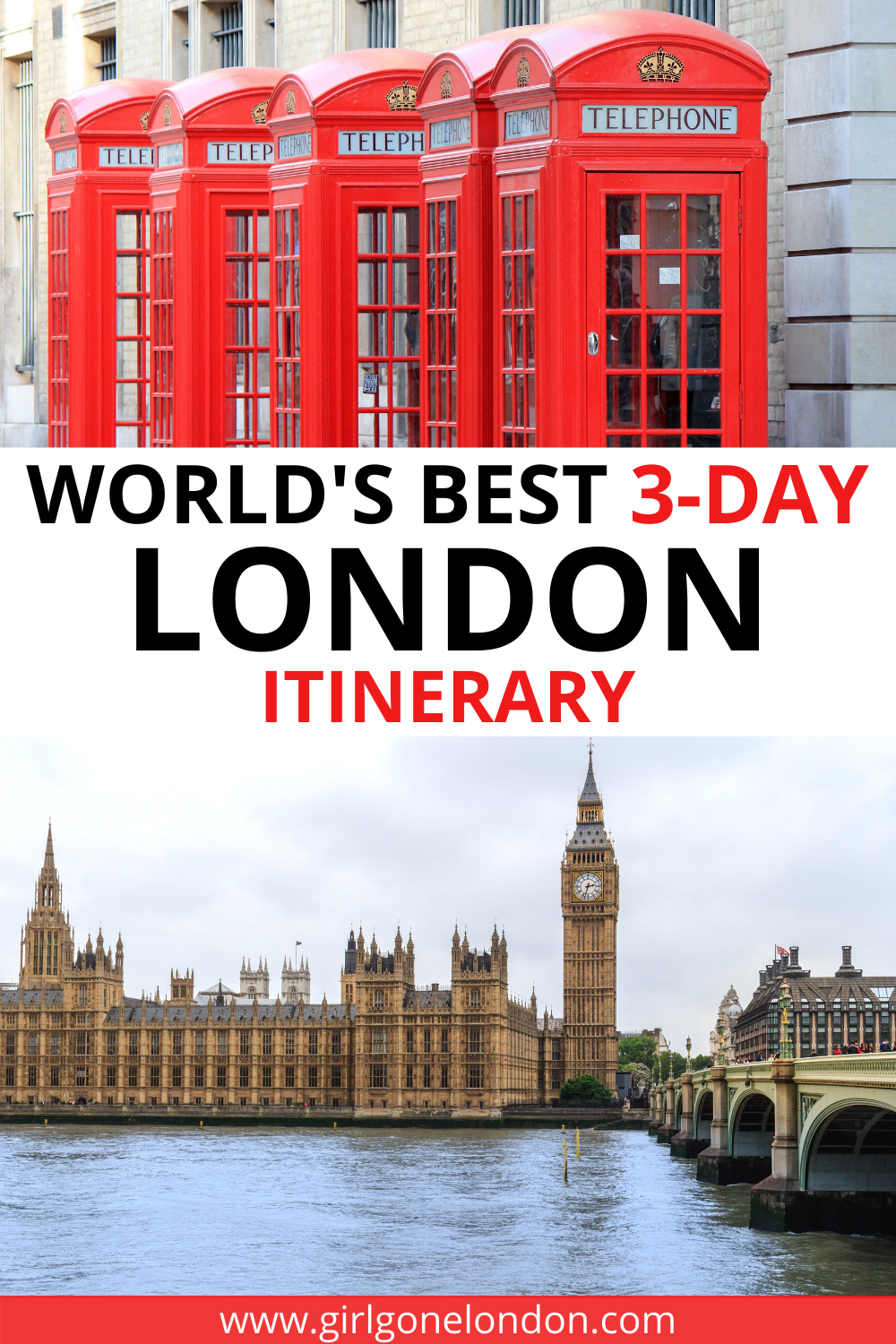 3 Days in London: The Ultimate London Itinerary for First