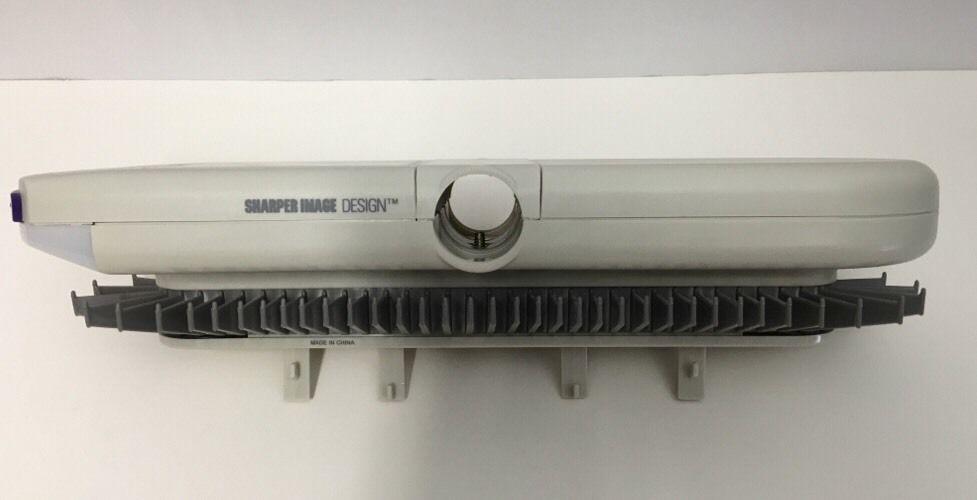 Sharper Image Tie Belt Motorized Auto Drive Lighted Rack 4 C Batteries Closet #SharperImage