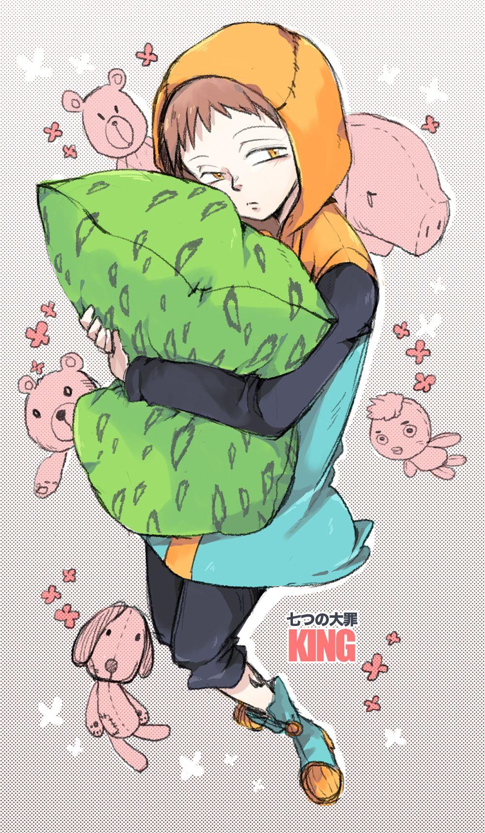 King Nnt Nanatsunotaizai Nanatsu Nanatsu No Taizai Manga Anime Sete Pecados Capitais