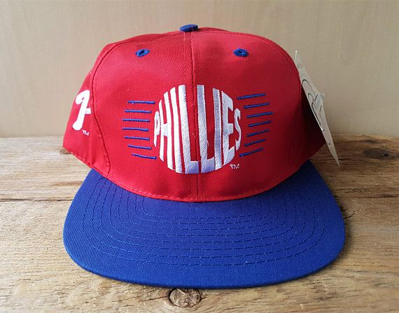 Philadelphia PHILLIES Vintage 90s Snapback Hat Official MLB Baseball Cap  Genuine Merchandise Licensed Product Annco Deadstock 2 Tone Ballcap 5db4ed4833a2