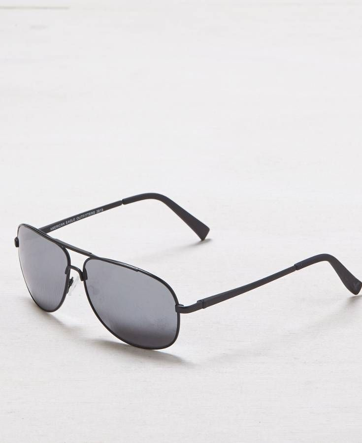 239b7ae143 American Eagle Black Aviator Sunglasses