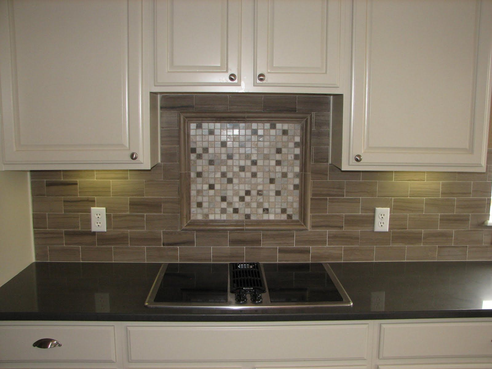 Tile backsplash with black cuntertop ideas tile Mosaic kitchen wall tiles ideas