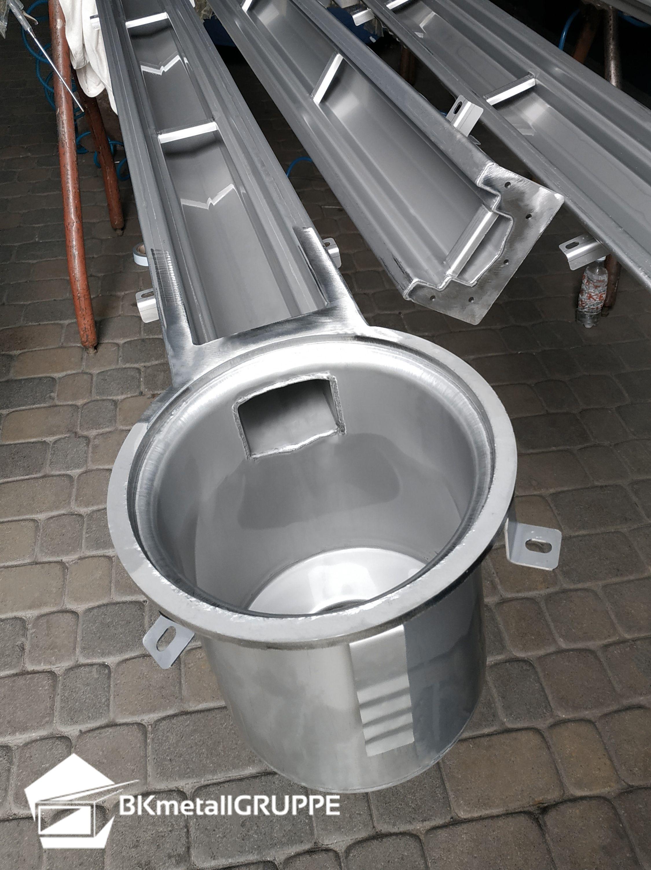 Brauerei Entwässerungsrinnen Mit Rund Senkrecht Bodenablauf Entwässerung Abwasser System Entwässerungslösungen