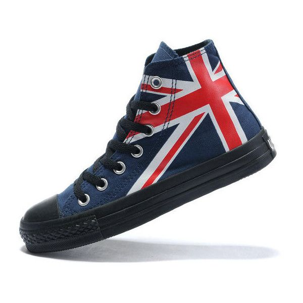 All Star Converse England Flag found on Polyvore | Converse