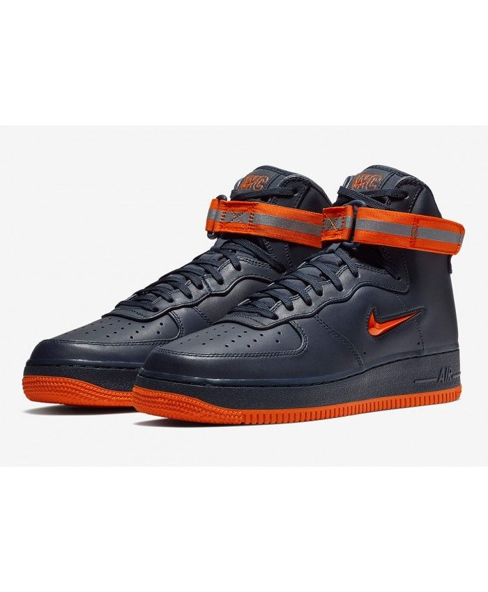 the best attitude 42b12 3cf72 Nike Air Force 1 High Fdny Navy Orange Trainer Sale,Fashion and trend.
