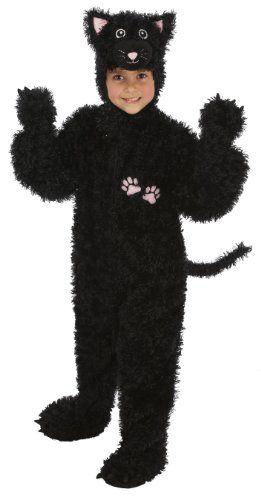 Black Cat Set Childrens Fancy Dress