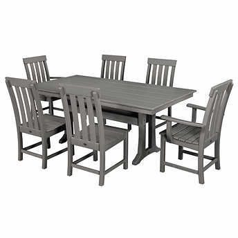 Prescott 7-piece Dining Set by POLYWOOD