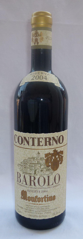 ---Sua Maestà il: BAROLO ---- Barolo Monfortino riserva 2004-- #Wonderfooditaly #FrancescoBruno