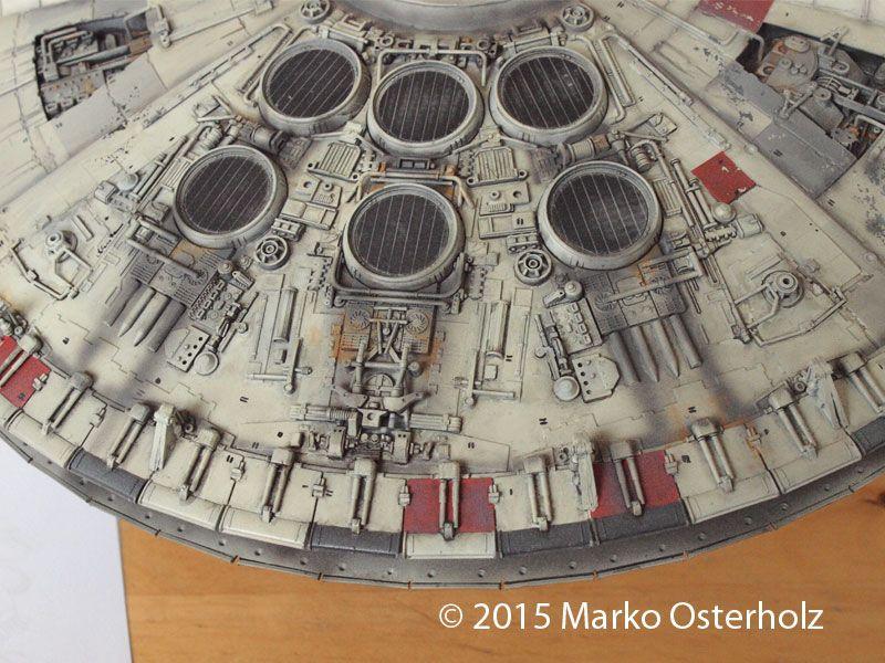 """1:72 FM Falcon - modified to match the 32"""" studio model"""