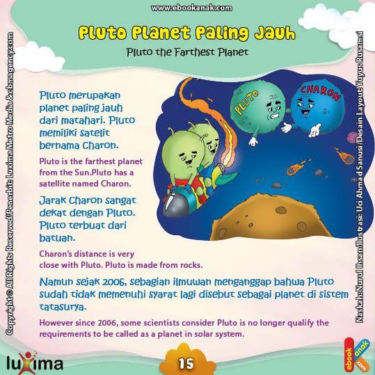 Apakah Nama Planet Paling Jauh Dari Matahari Ebook Anak Sains Anak Pendidikan Anak Usia Dini Pengetahuan