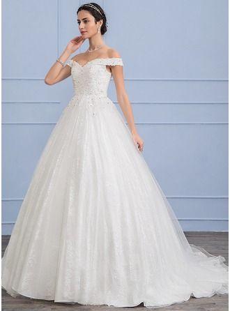Vestido de novia corte baile
