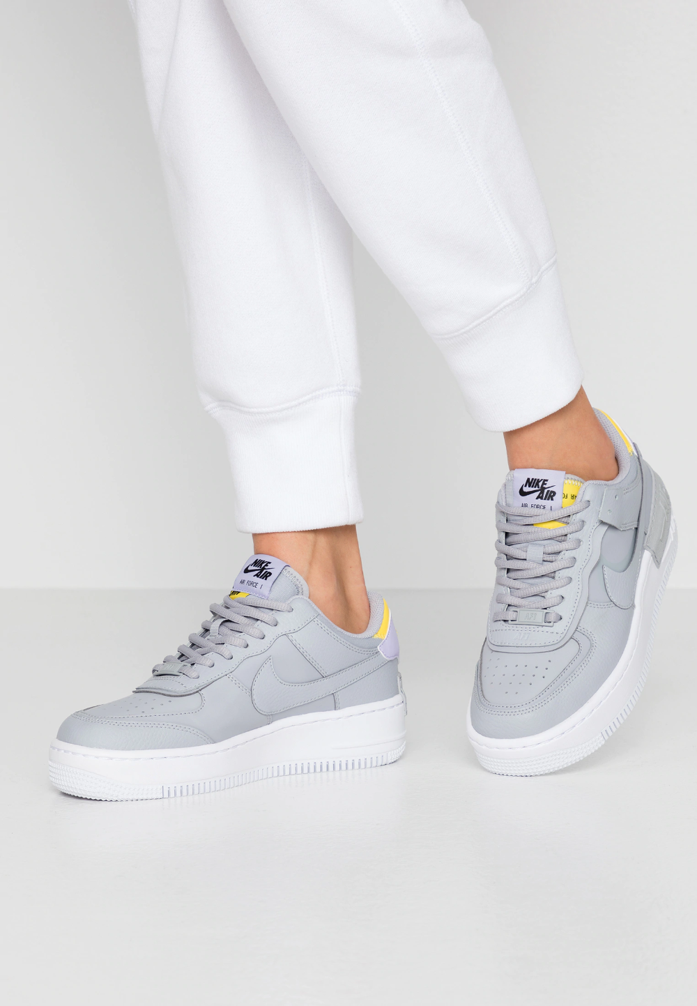 air force one shadow grise femme