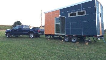 Modern, Off-Grid Tiny House on Wheels For Sale