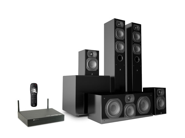 Finally A 5 1 Home Theater System With Wireless Speakers Wireless Home Theater Speakers Wireless Home Theater Home Theater Speakers
