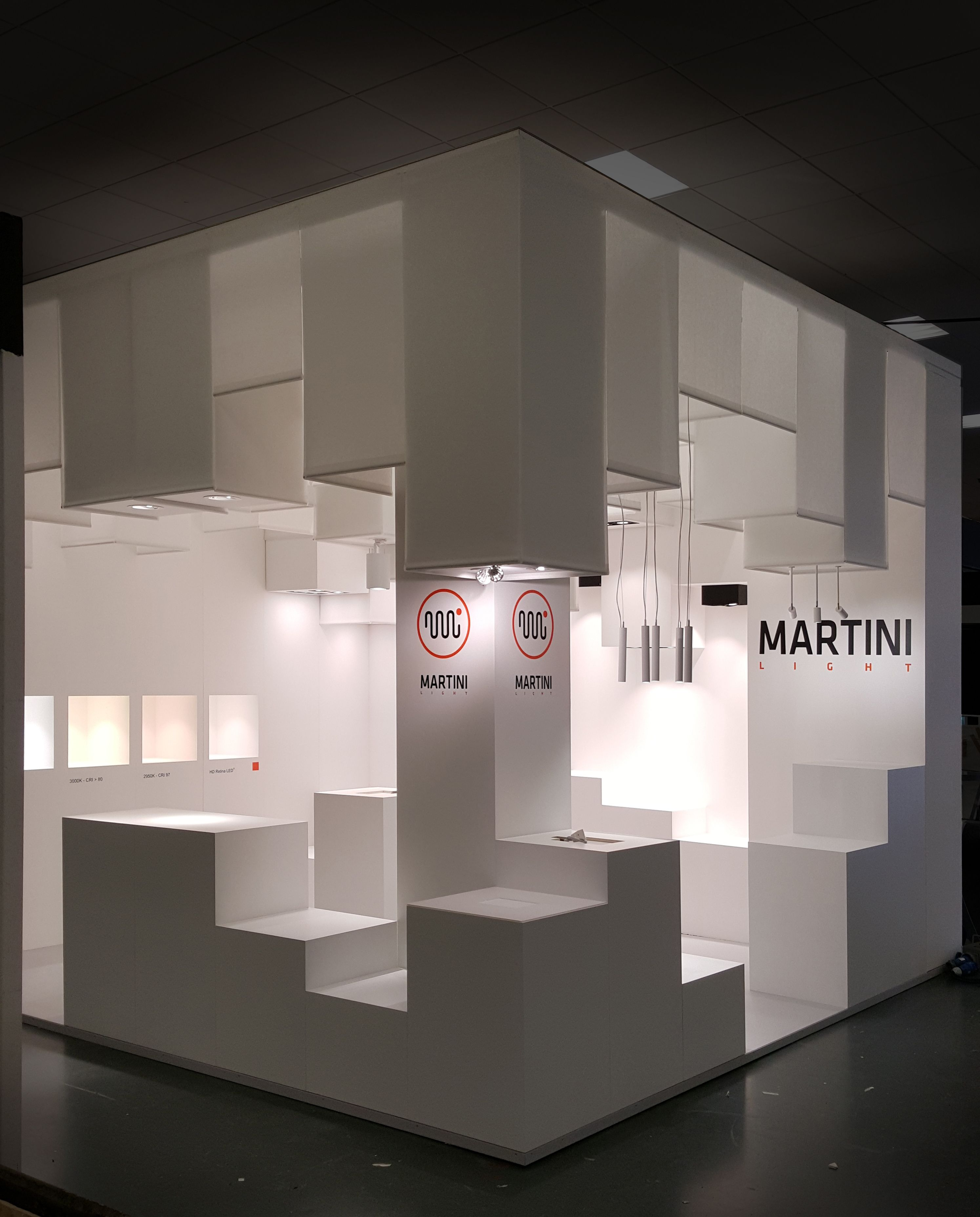 Exhibition Stand Lighting Near Me : The best of retail design expo martinilight lighting