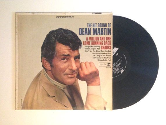 Fall Sale Vinyl Lp Dean Martin The Hit Sound Of Dean Martin Record Album Canadian Pressing A Million And One Shades Dean Martin Record Album Records