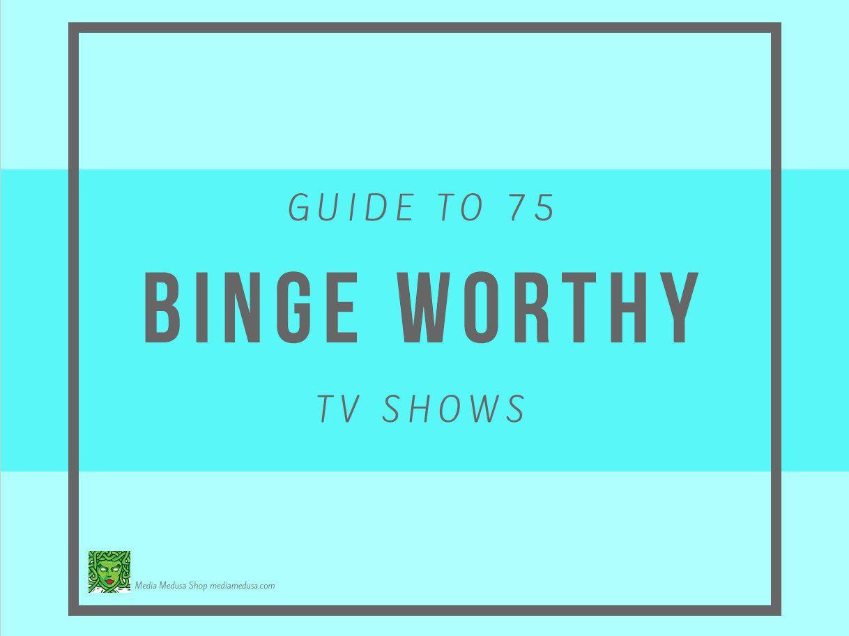 Printable Binge Watch TV Show Tracker Editable PDF Ebook