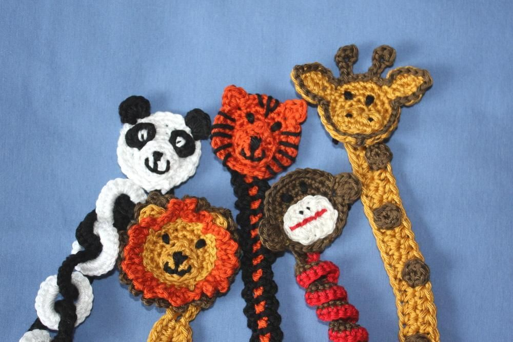 Amigurumi Zoo Animals : Zoo animal soother pacifier clip pattern zoos patterns and animal