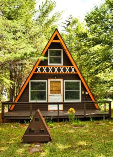 Build Your Own 24 X 21 A Frame 2 Story Cabin Diy Plans Fun To