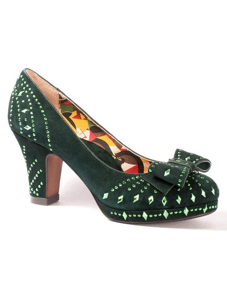 L Poiret Green ShoesPaul Fire Miss 6Yfv7bgy