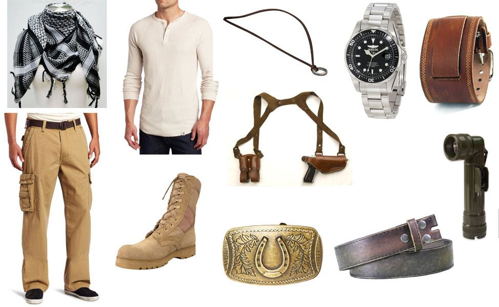 uncharted 3 nathan drake outfit