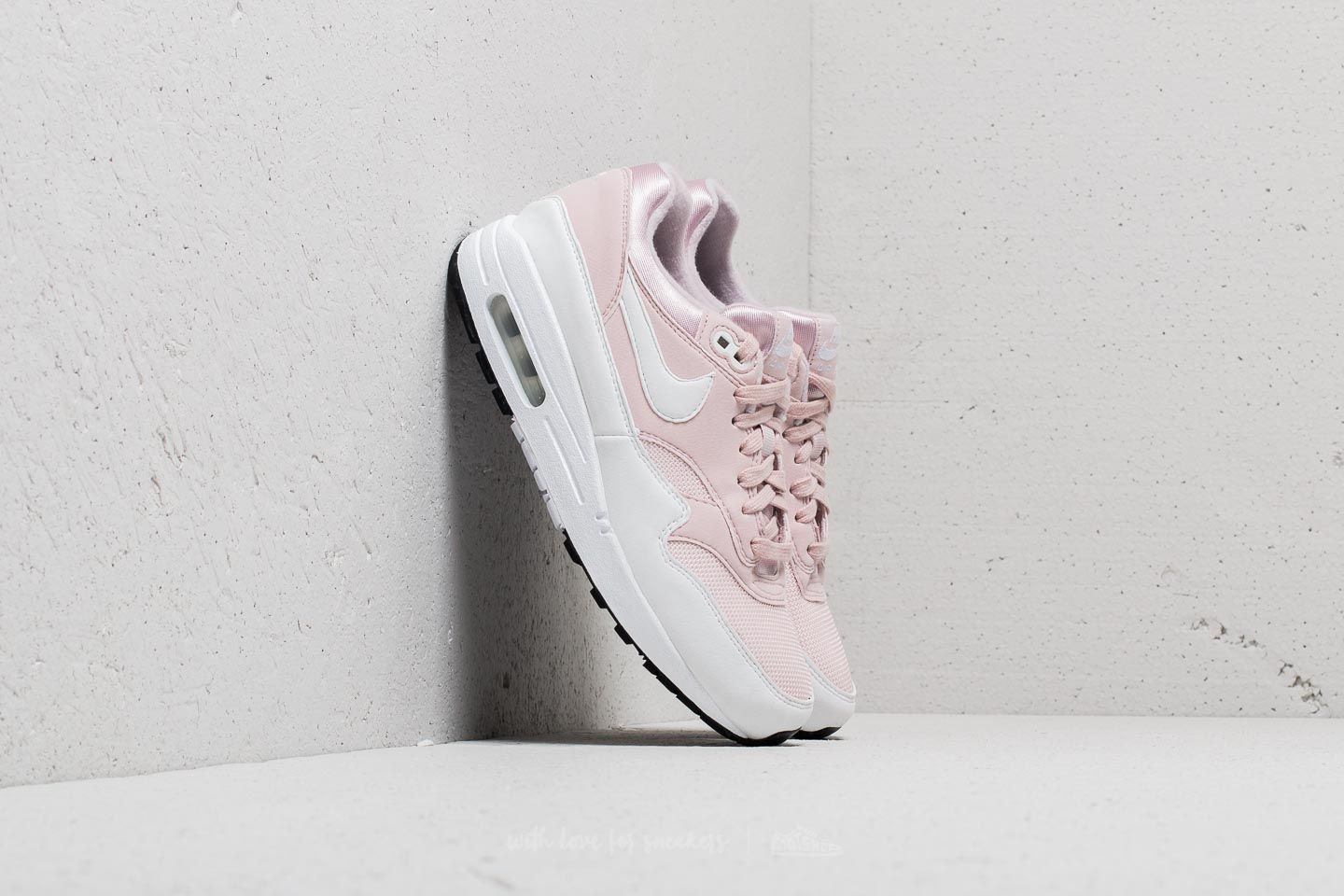 Nike Wmns Air Max 1 Barely Rose  White at a great price  170 buy at 9a82a68b3e