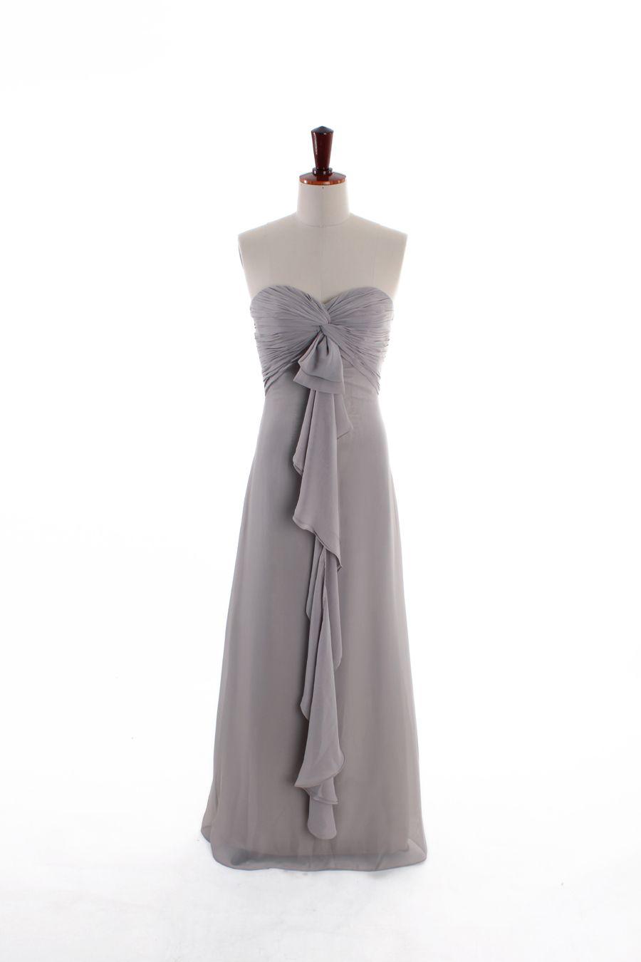 Amazing aline empire waist chiffon dress for bridesmaid fashion