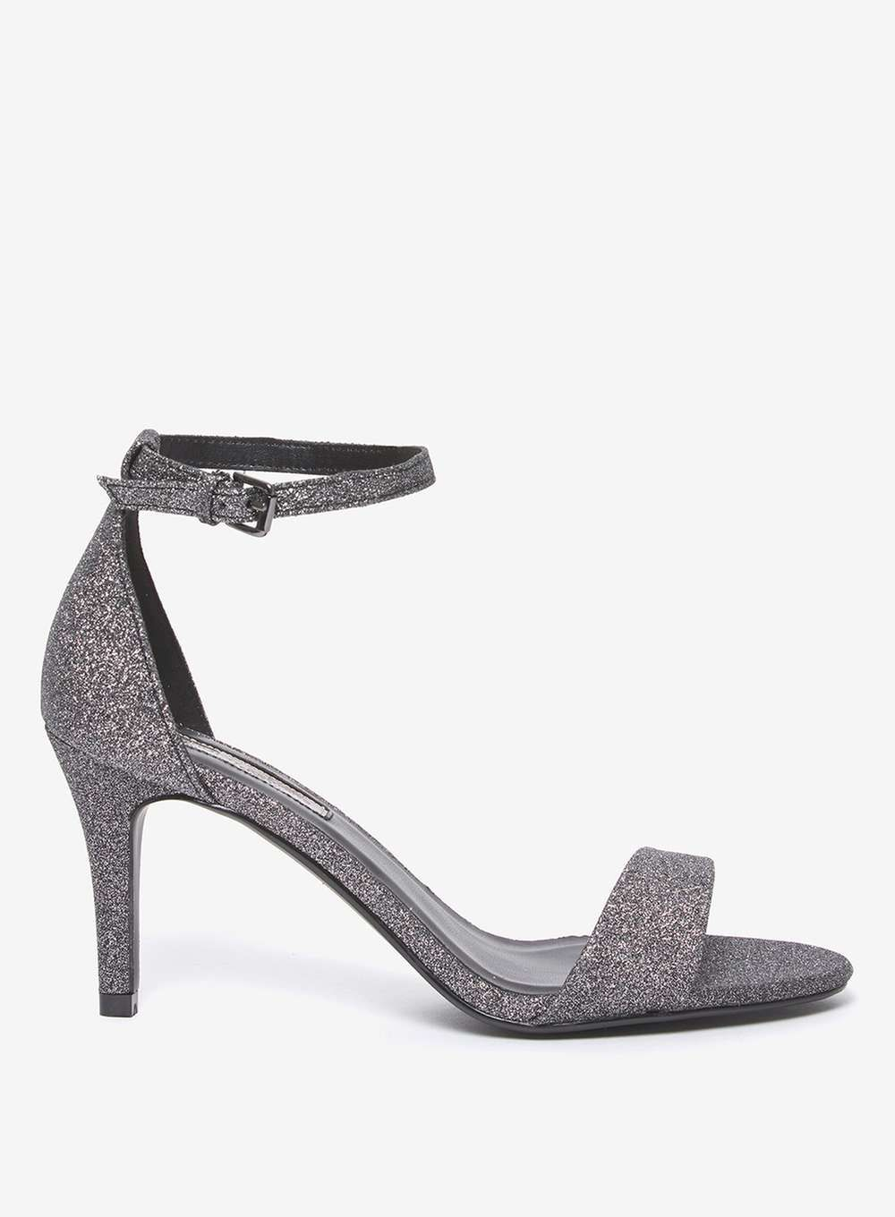 5db2c793de9d6 Pewter Silver Wedding Shoes With a Low Heel | Dorothy Perkins UK Affiliate