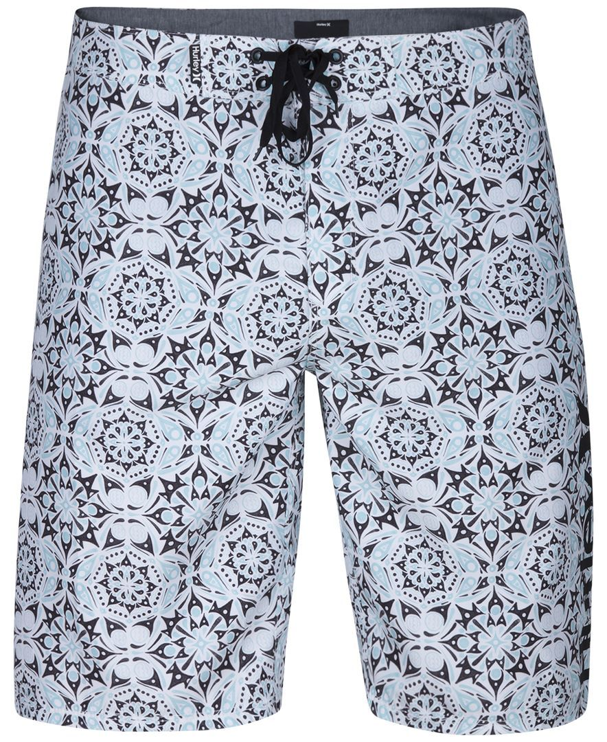 Hurley Men's Groves Medallion-Print Boardshorts