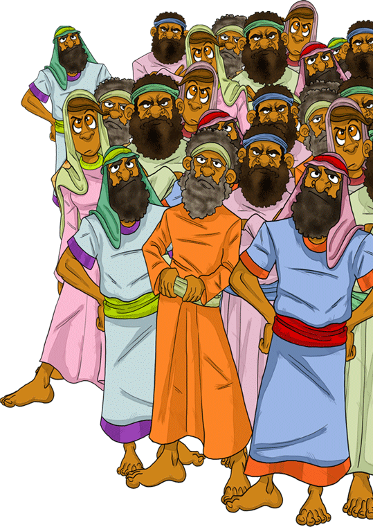 Image result for korah questions moses