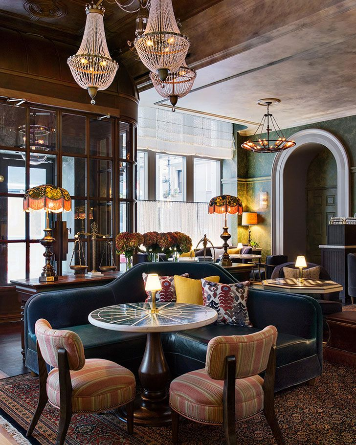 Greatness and elegance of beekman hotel in new york decor styles interiors online and interiors