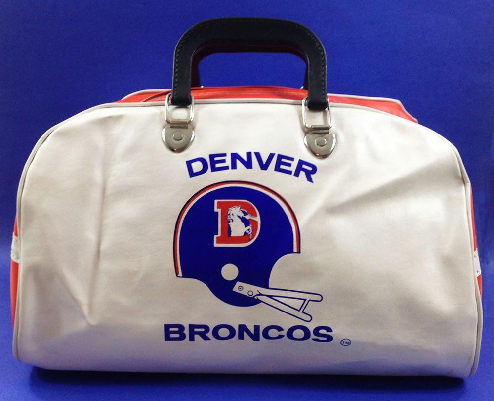 Vintage 1970 S Or 1980 Denver Broncos Bowling Style Gym
