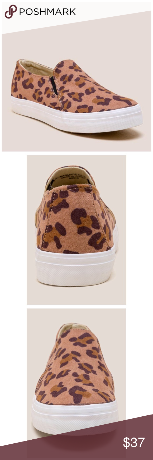 313acecbe79e Restricted Vanity Leopard Slip On Sneaker New without box Canvas man-made  upper -Allover leopard detail -Slip on -Man-made sole Posh Mishmosh 🌷  Restricted ...